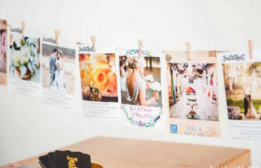 Insta-that photo memories of your special day are the perfect way to include your guests!