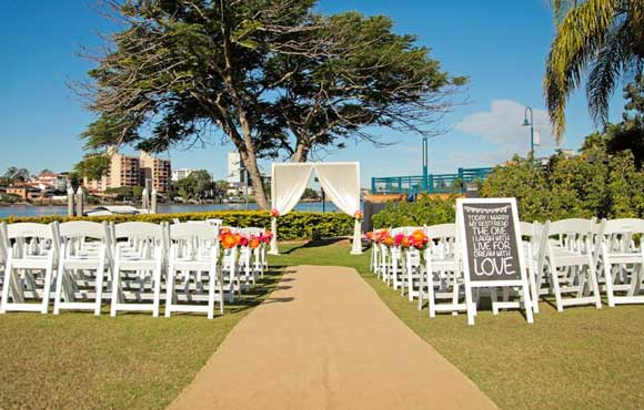 Riverside ceremony venue