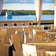 Riverside reception venue