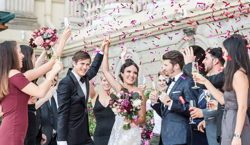 A Customs House wedding