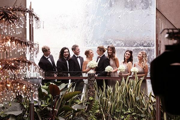 Wedding of Cameron and Alanah at Cloudland