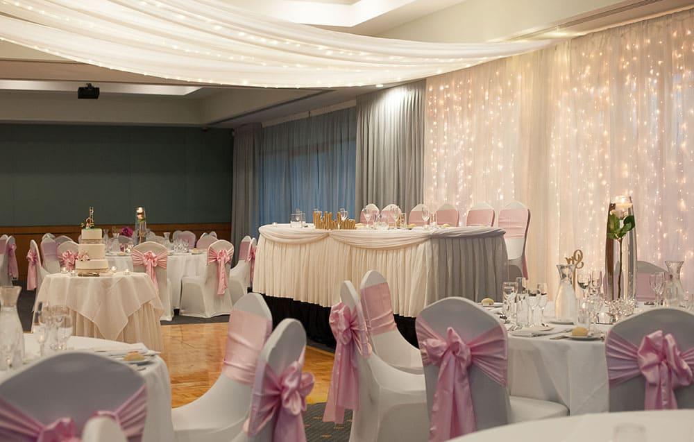 Wedding reception at Lakelands Golf Club