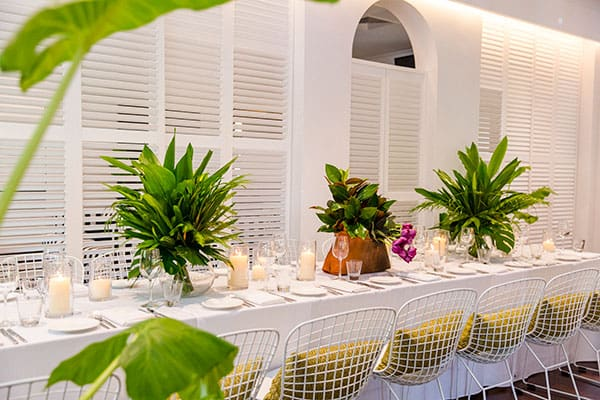 Wedding reception inspiration at the Port Office Hotel