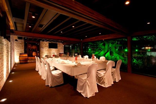 Intimate underground reception venue