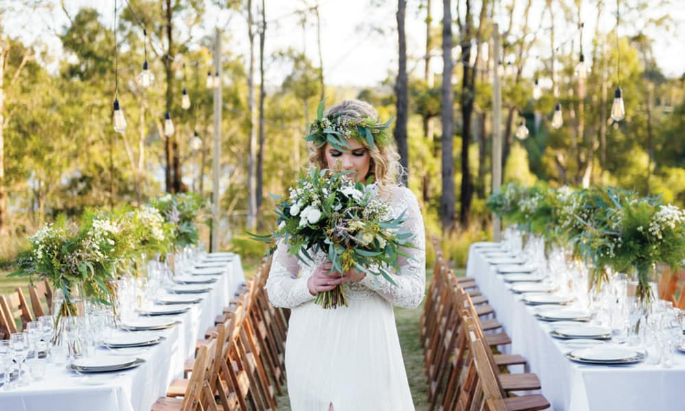 Country wedding venues: Walkabout Creek