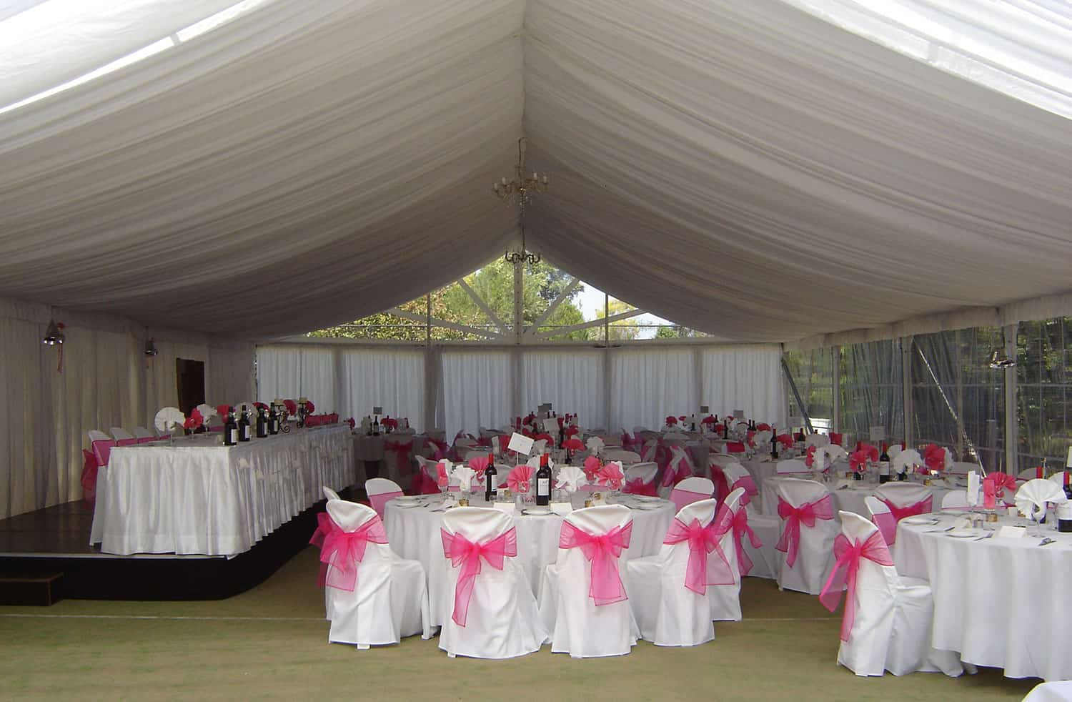 Complete party marquee hire queensland brides 1 junglespirit Image collections