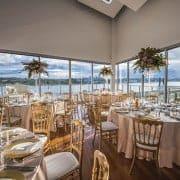 Waterside reception venue