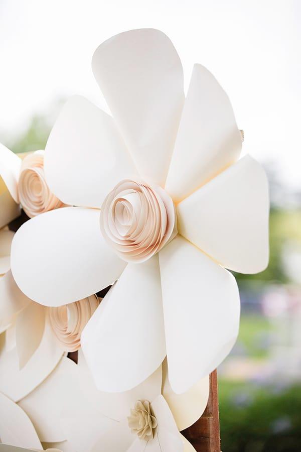 fake wedding flower decoration