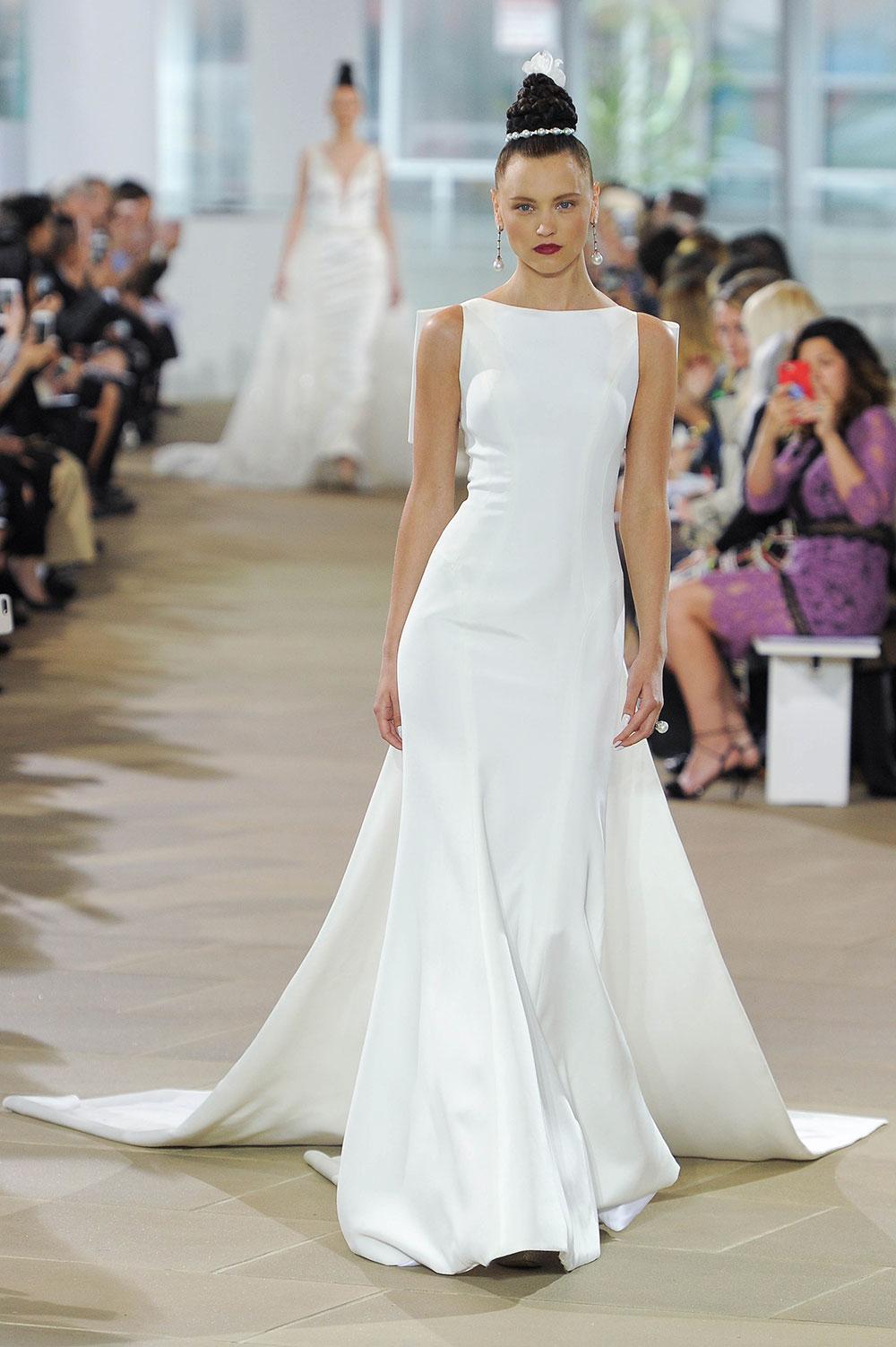 Minimalist bride: Ines-Di-Santo