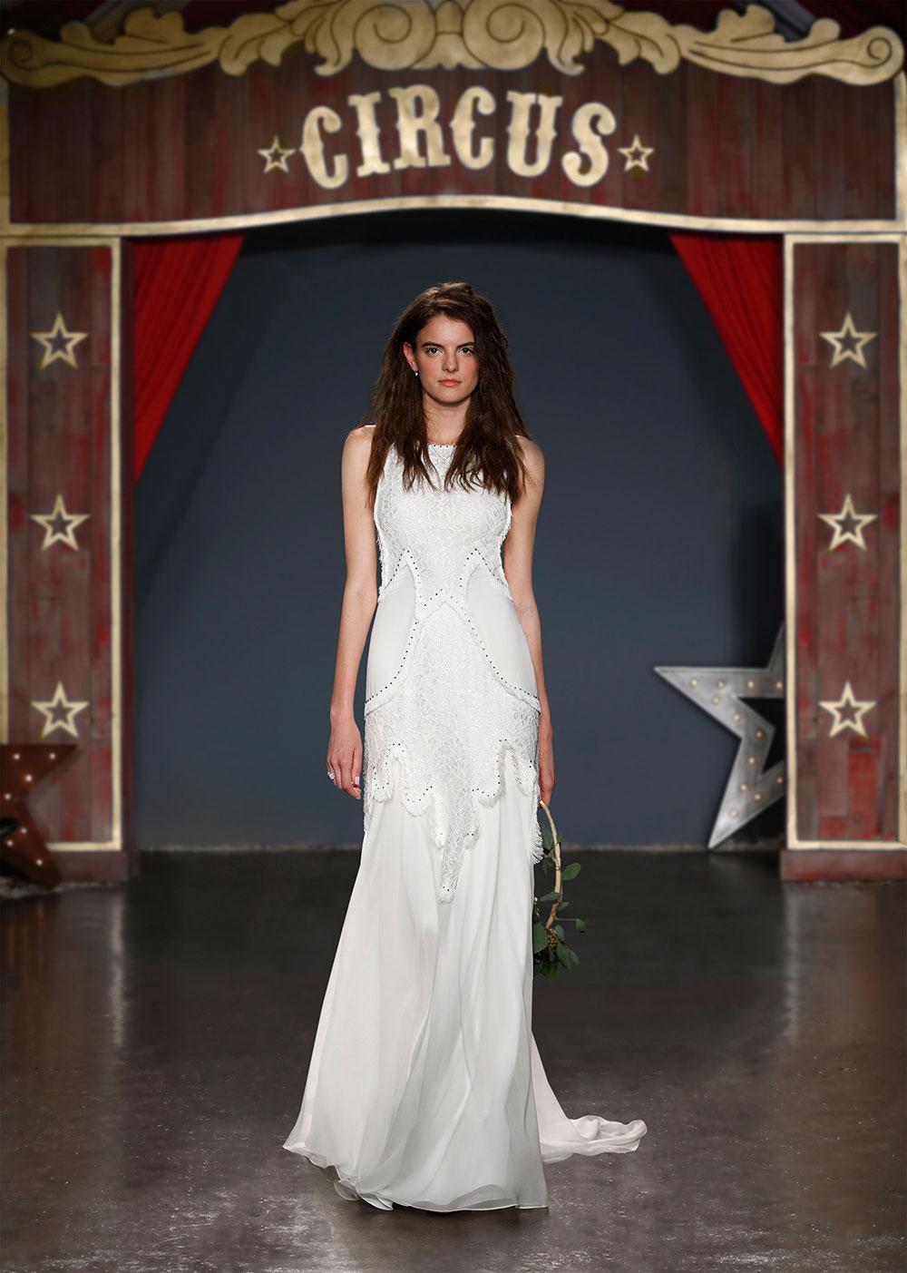 Minimalist bride: Jenny-Packham
