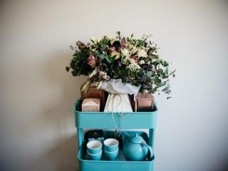 wedding bouquet natives