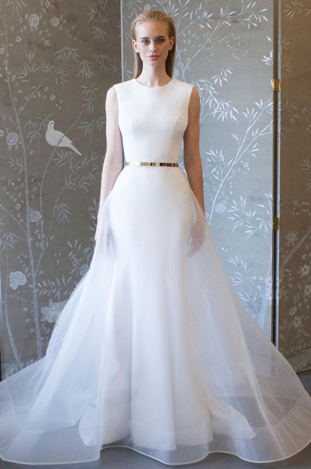 Minimalist bride: Romona-Keveza