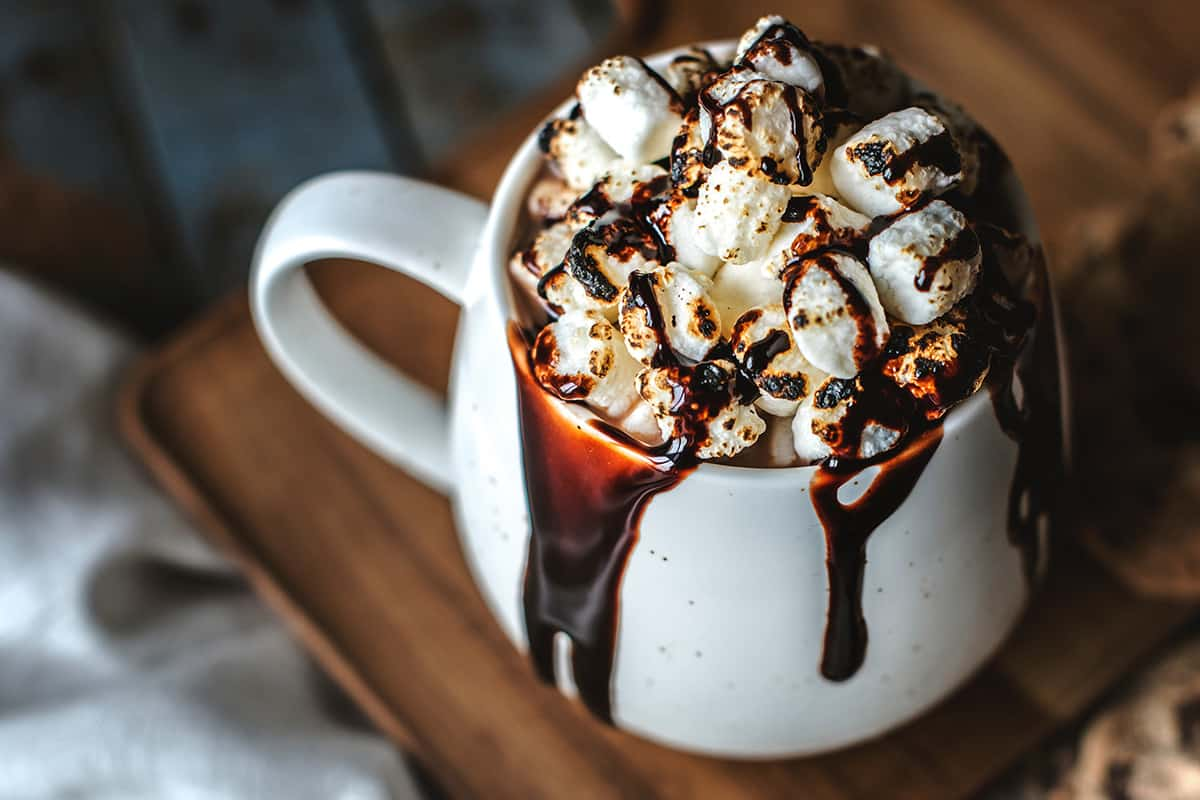 hot chocolate for weddings