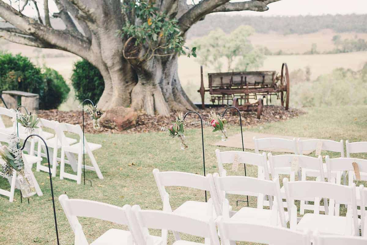 wedding of Alex and Josh