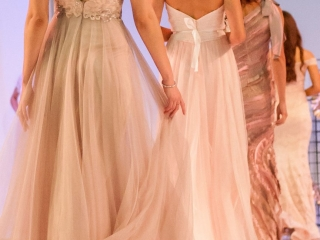 fashion parade at the Queensland Brides Wedding & Honeymoon Expo