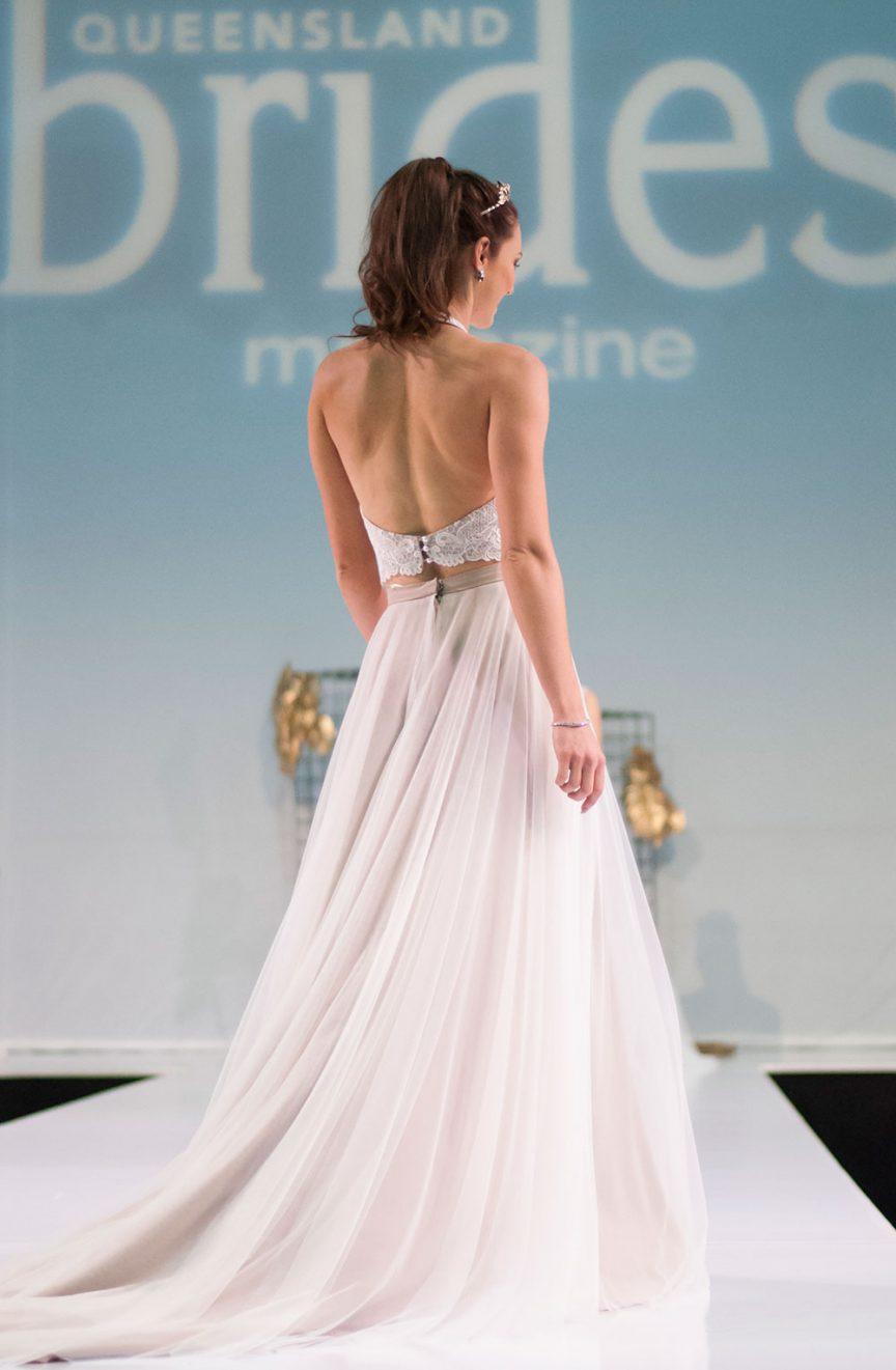 fashion parade at the Queensland Brides Wedding & Honeymoon Expo