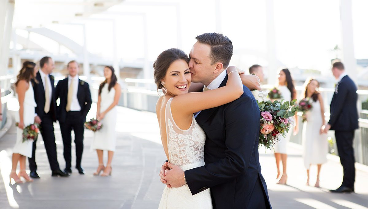 Megan real wedding