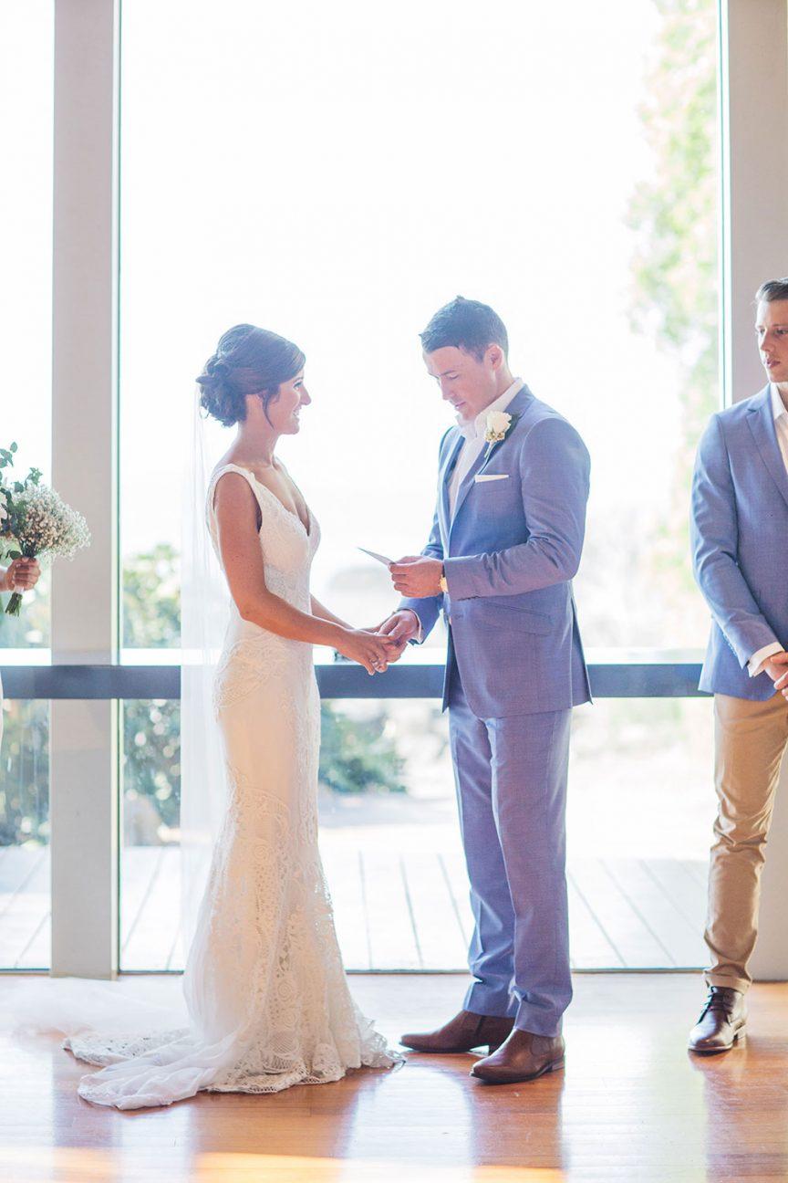 ceremony of Lauren and Matt