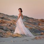 Bertossi Brides shows off 2018 collection in beautiful Stradbroke Island shoot (PSA: one dress uses the same silk as Pippa Middleton's bridesmaid dress!)