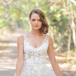 Natural beauty: Nude-toned dress inspiration for the modern bride