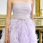 Wedding dress trends from Paris Couture Week July 2017: Colour therapy