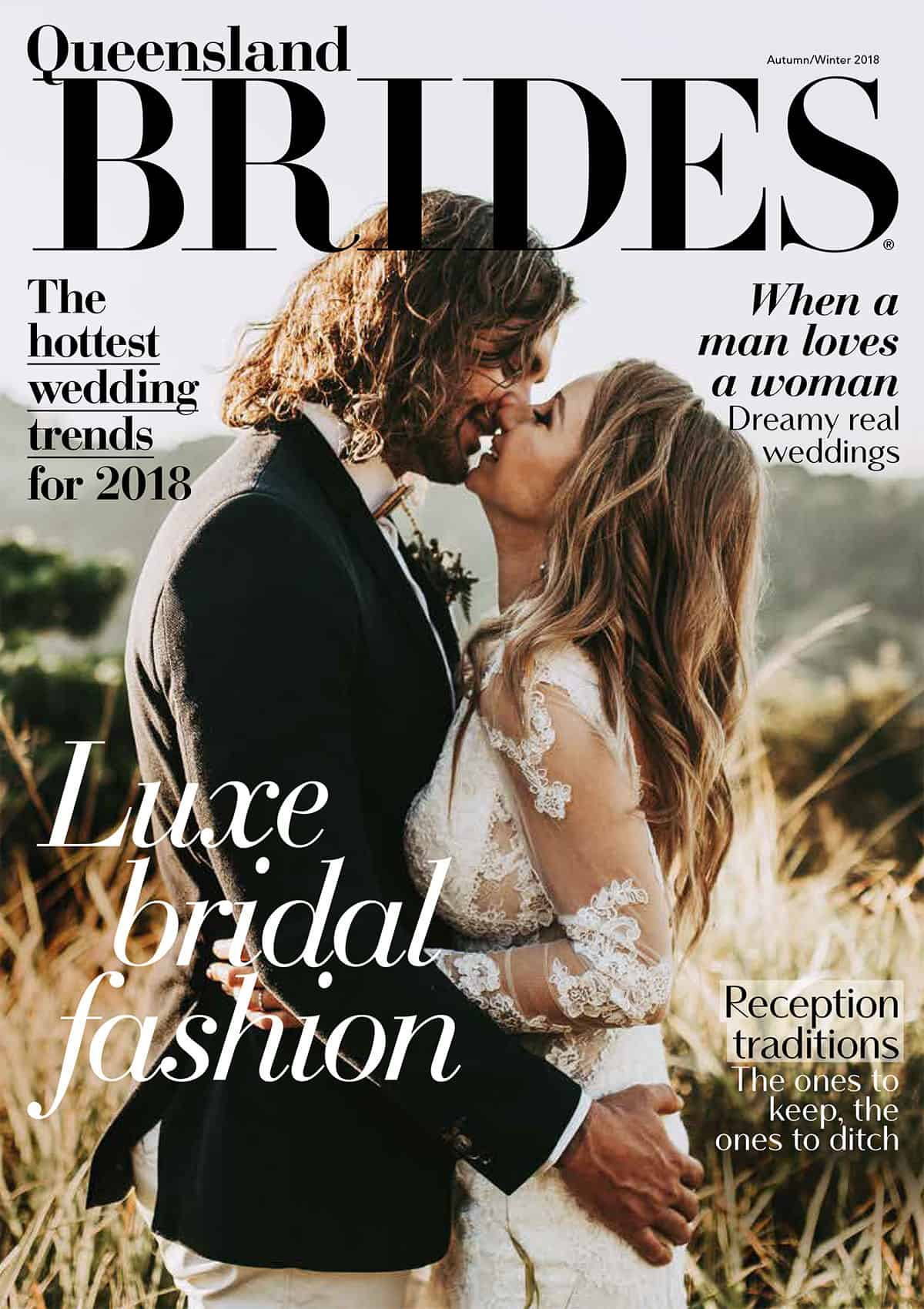Queensland Brides Autumn Winter 2018 front cover