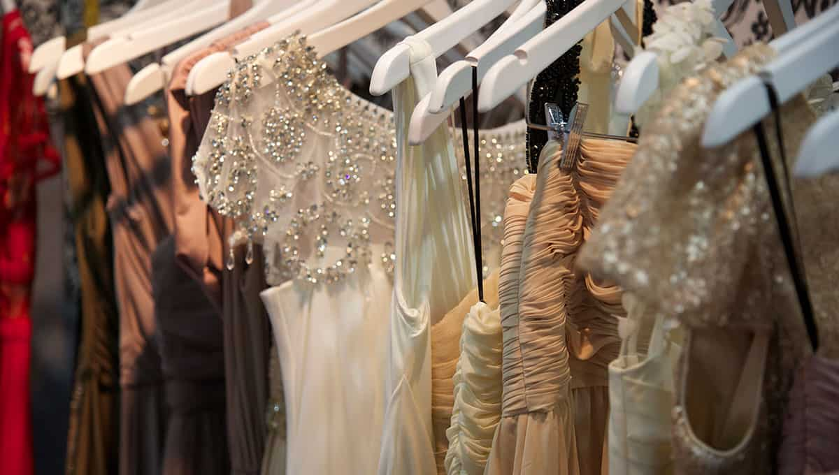 wedding dresses at expo