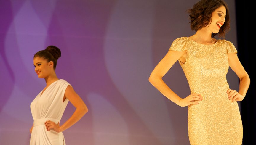catwalk show at expo