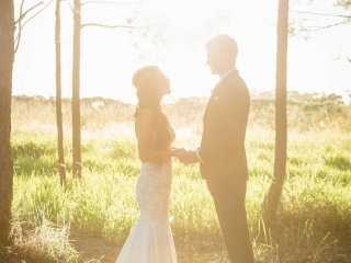 Styling a woodland wedding