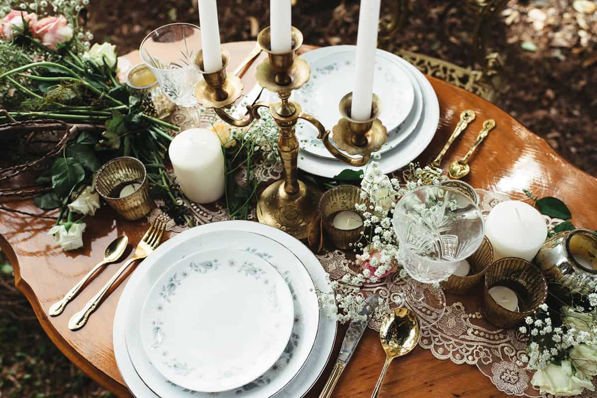 A Little Bliss Events table setting