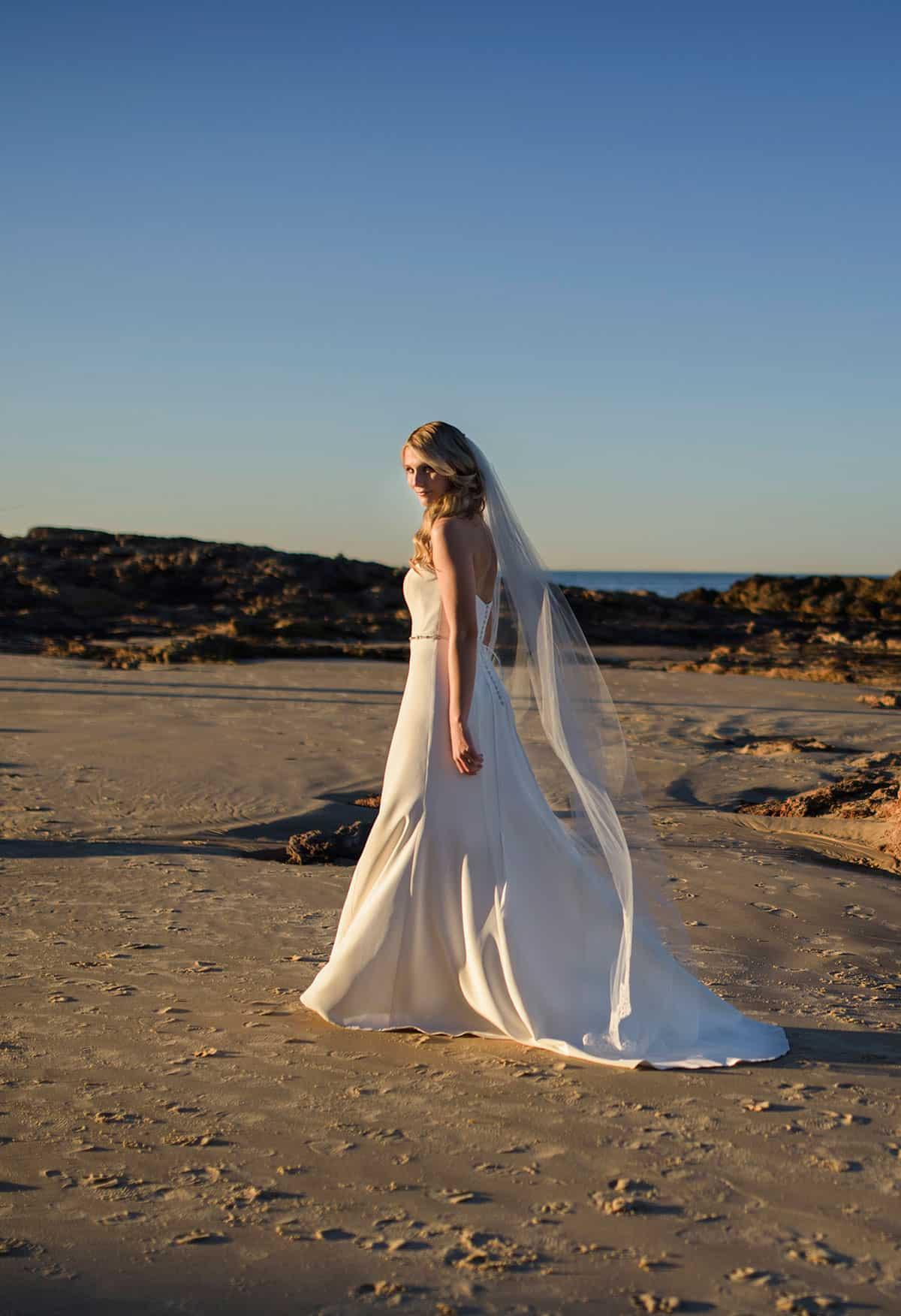 Paddington Weddings for Bertossi Brides slip-style dress