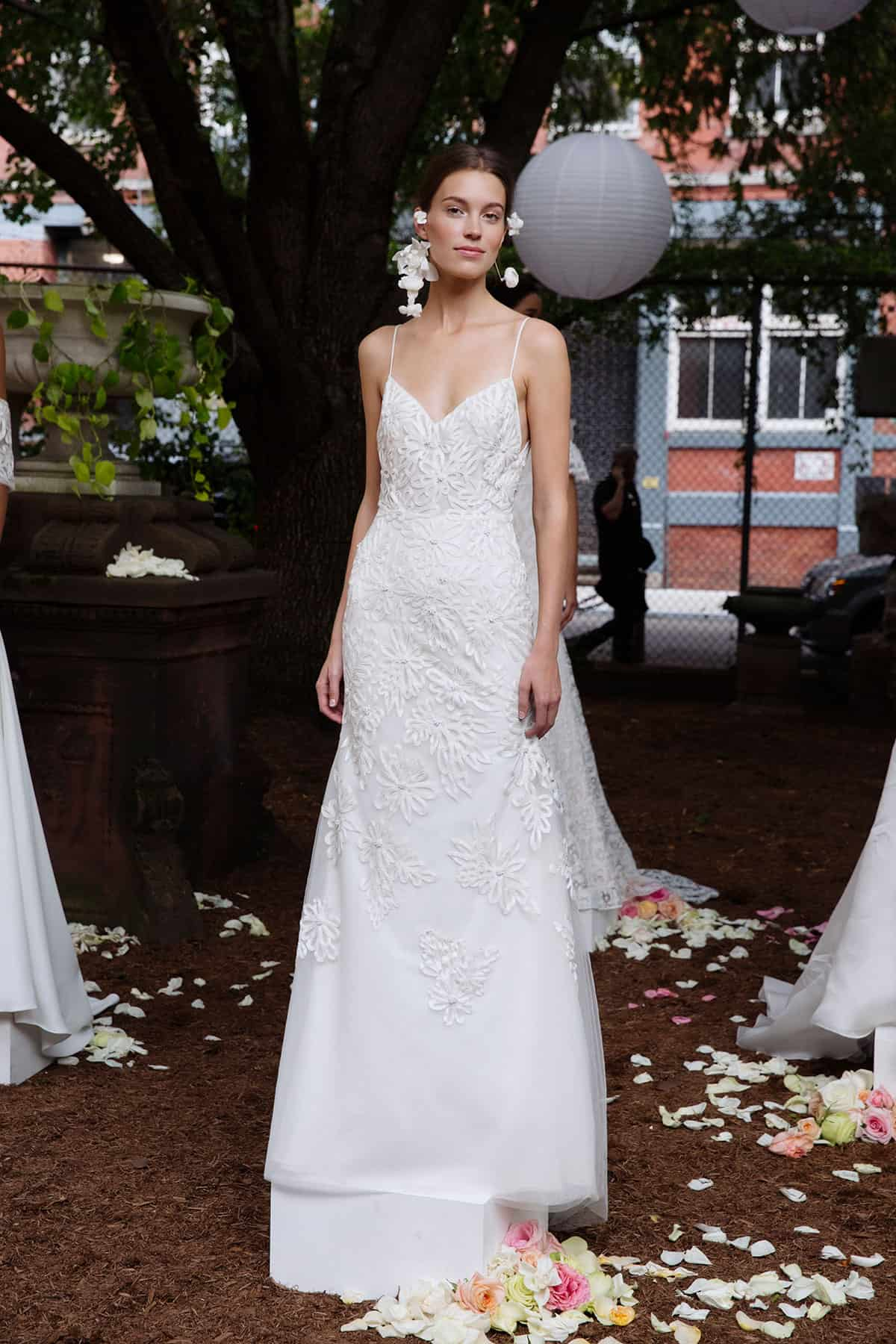Lela Rose slip-style dress