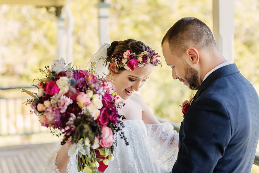 Wedding of Natalie + Diz