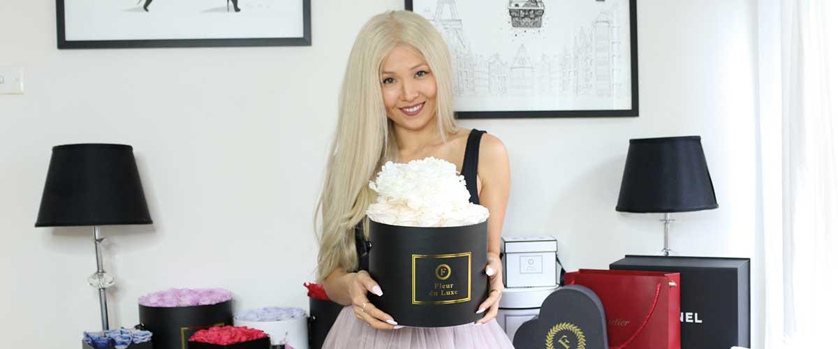 Fleur du Luxe founder Bakulia Ayupova