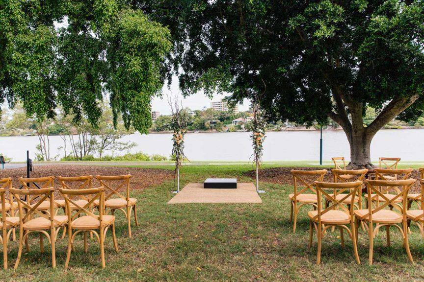 Wedding Kierra Andrew Queensland Brides