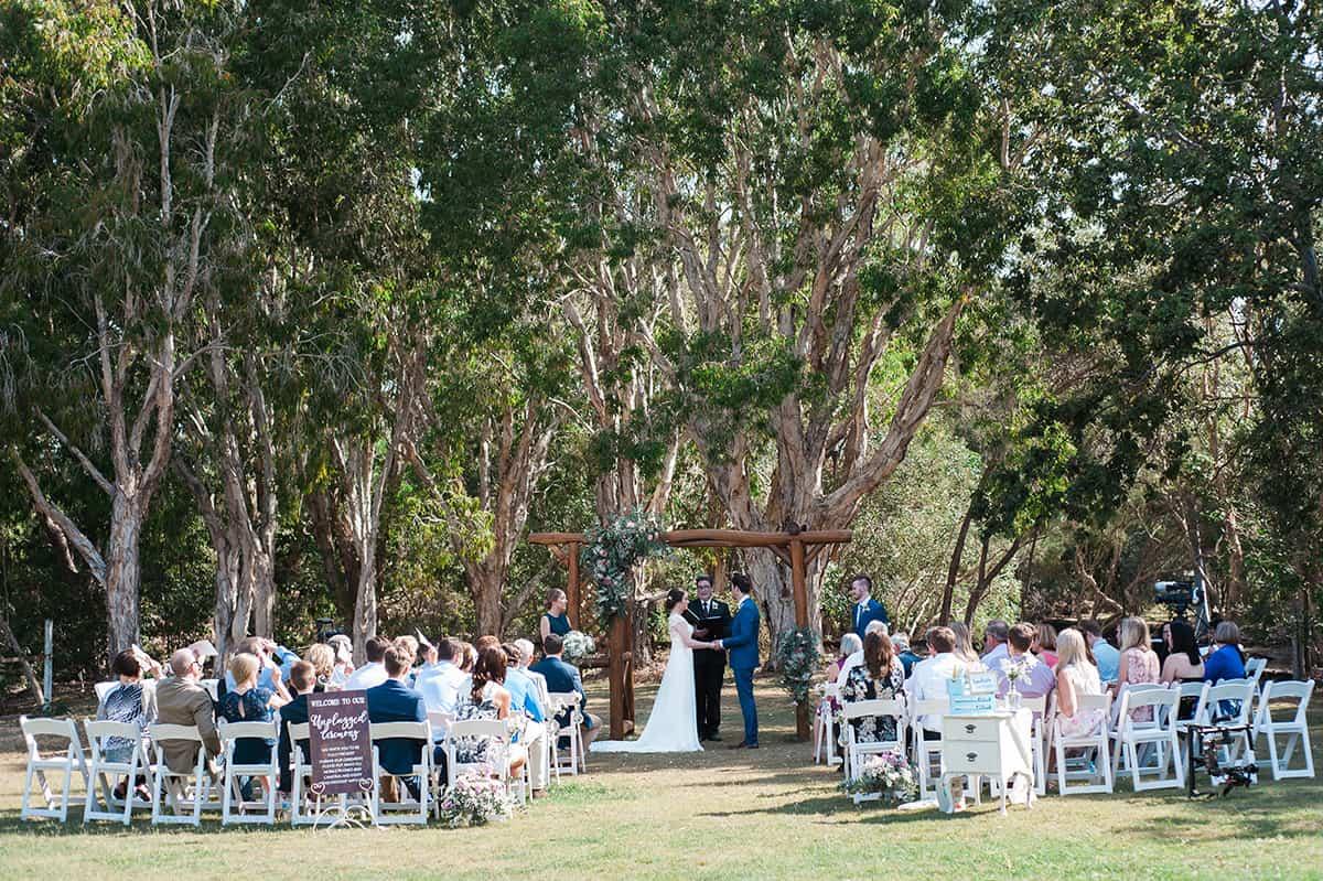 Wedding of Rebecca + Matthew