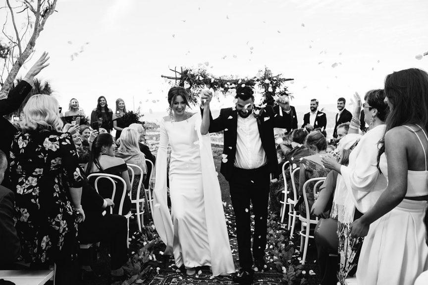 Wedding of Romy + James