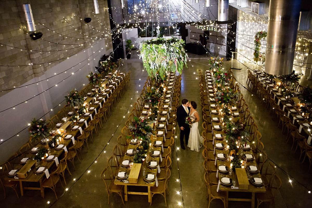 flower power wedding style statements