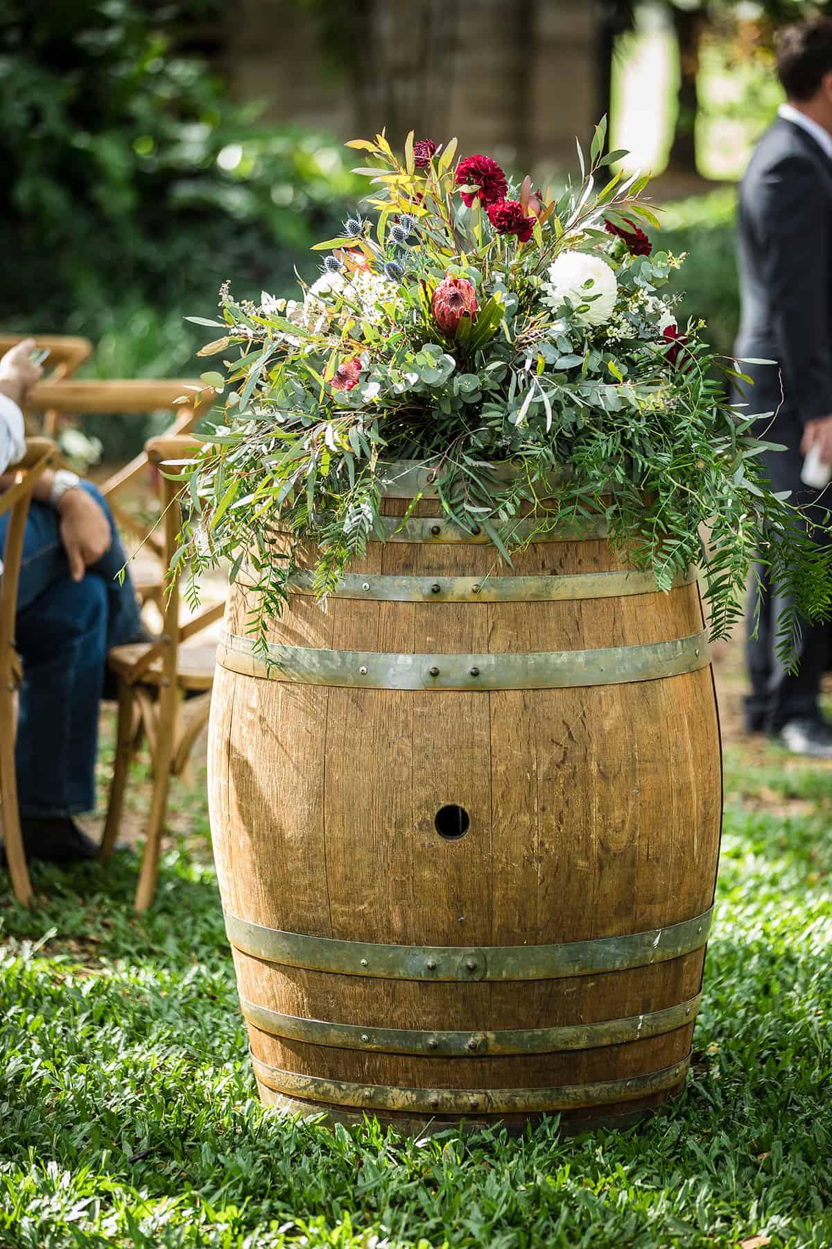 wedding flower power