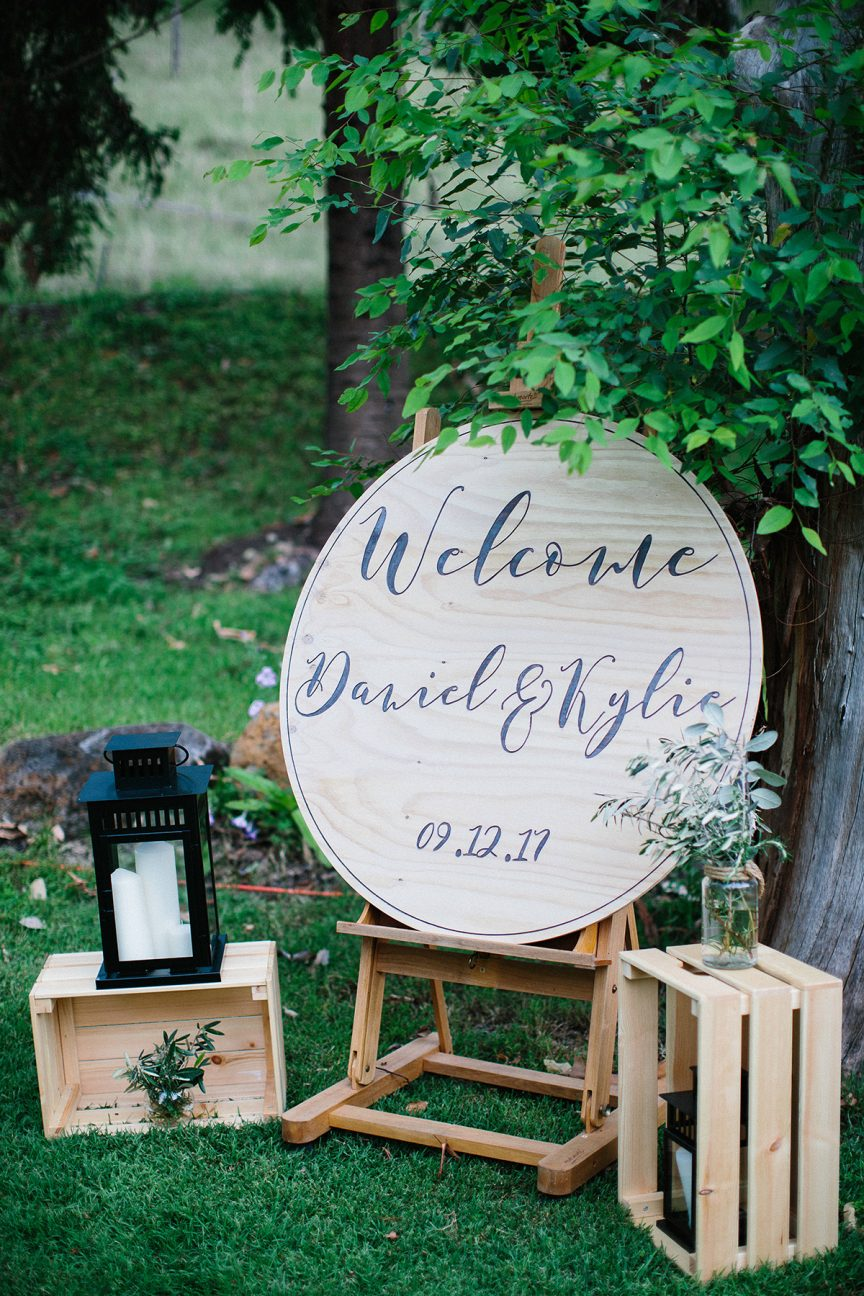 Wedding of Kylie + Daniel