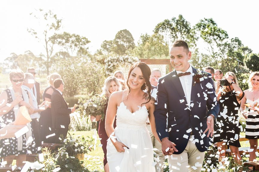Wedding of Kristy + Nathan
