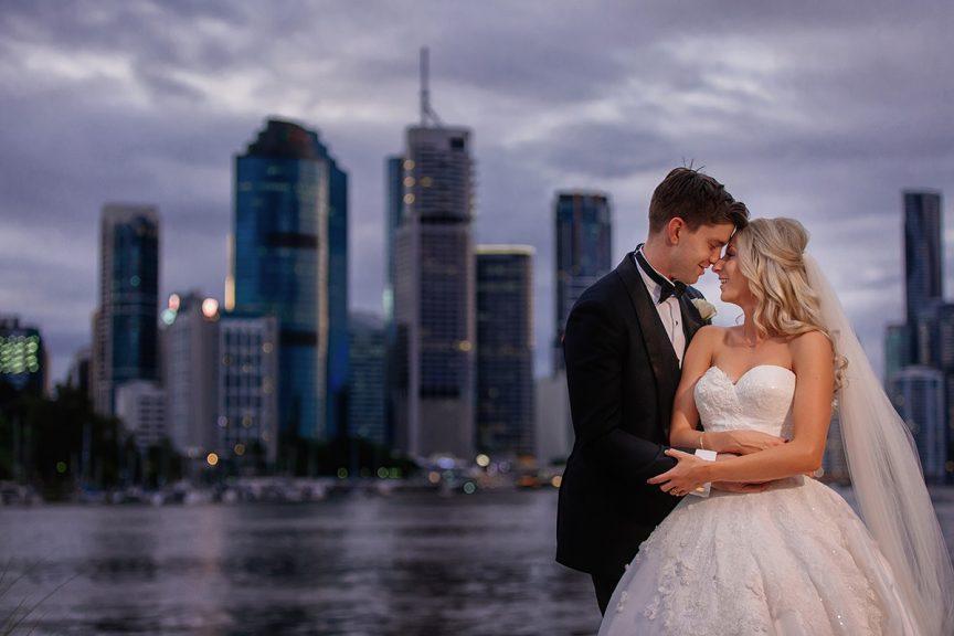 Wedding of Melanie + Sam