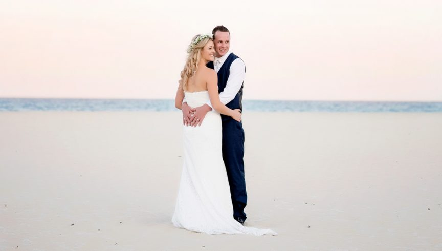 Couple on Gold Coast beach – Life, Love & Light Images