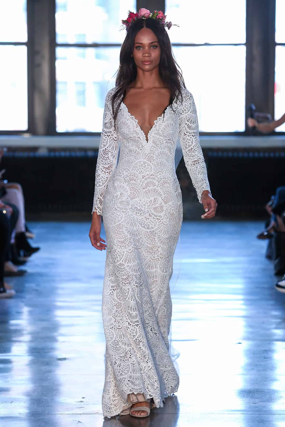 165e4c53b2f Bridal Fashion Week Spring 2019  Watters Wtoo s  At First Sight ...