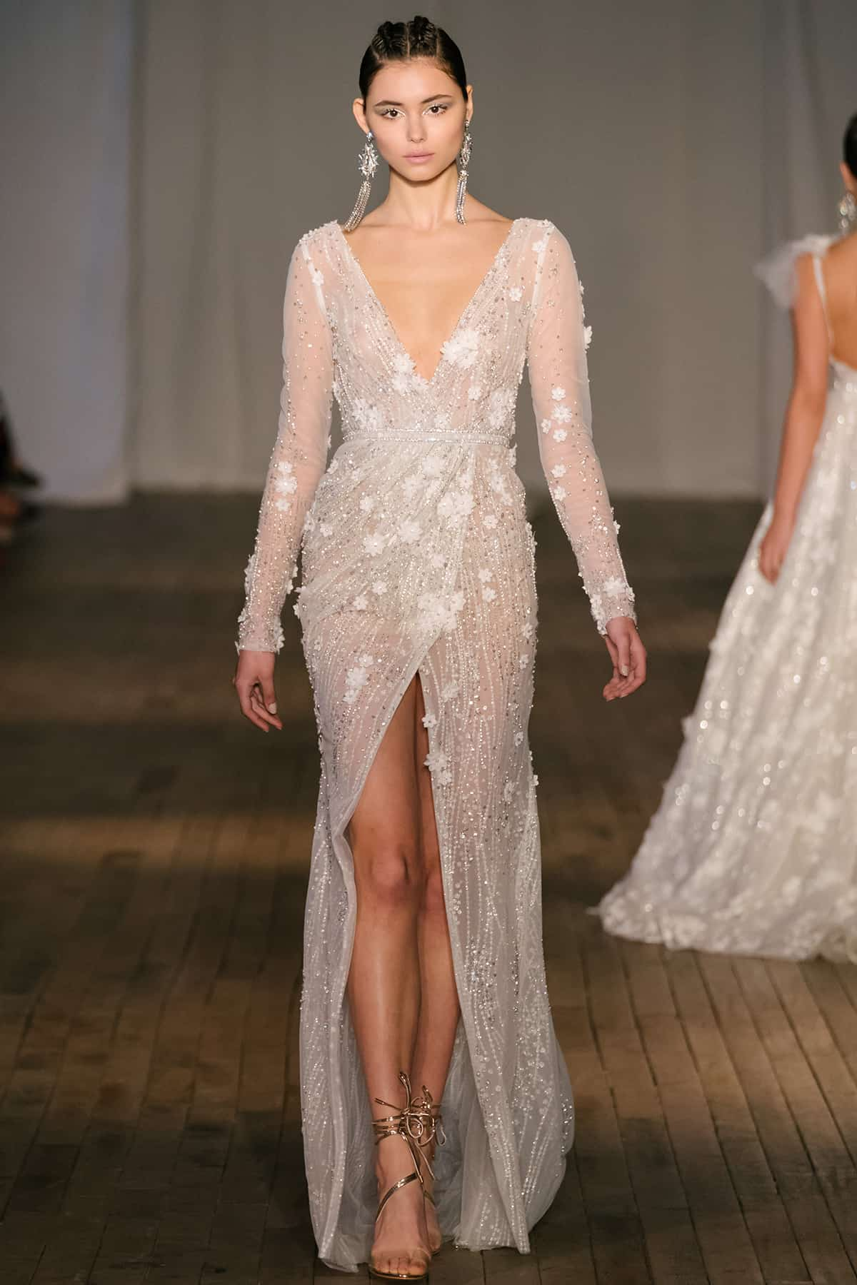 01b433f199df Bridal Fashion Week Spring 2019  BERTA Bridal S S 2019 collection ...