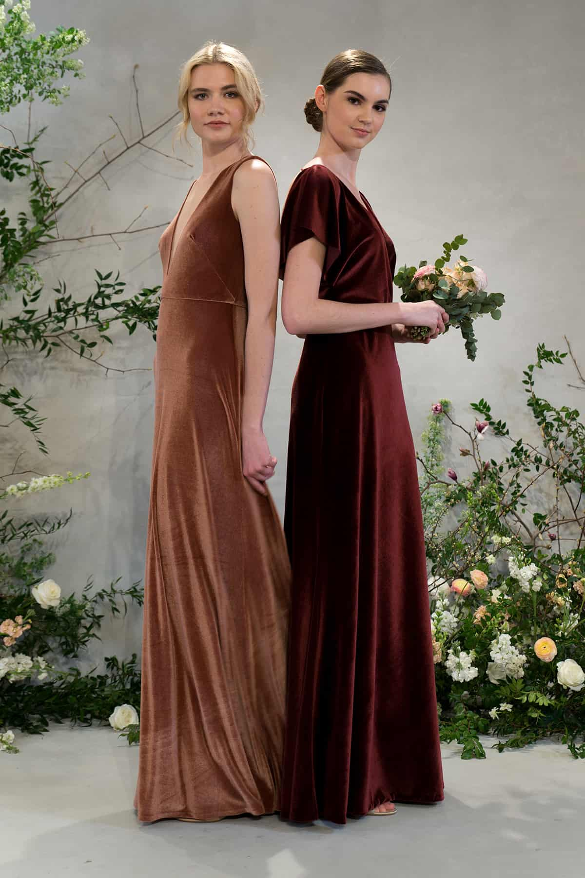 Jenny-Yoo-Fall-2018-Bridesmaid-Collection-Dark-Berry-and-English-Rose-dresses