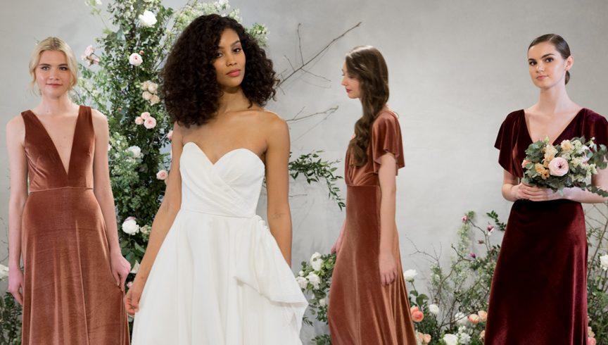457006917f98 Bridal Fashion Week Spring 2019  Jenny Yoo s Fall 2018 Bridesmaid collection
