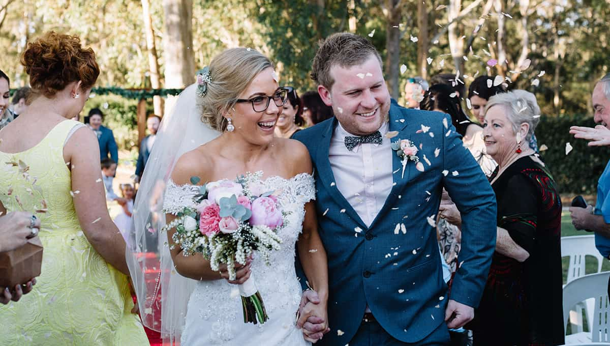 Wedding of Jade + Dave