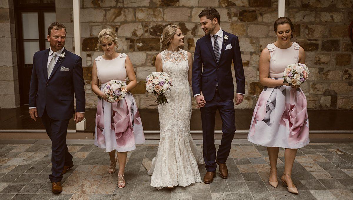 Wedding of Lauren + Paul