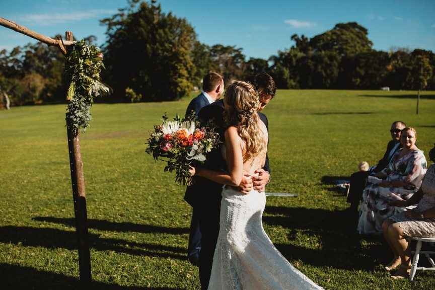 Wedding of Monica + Lindsay